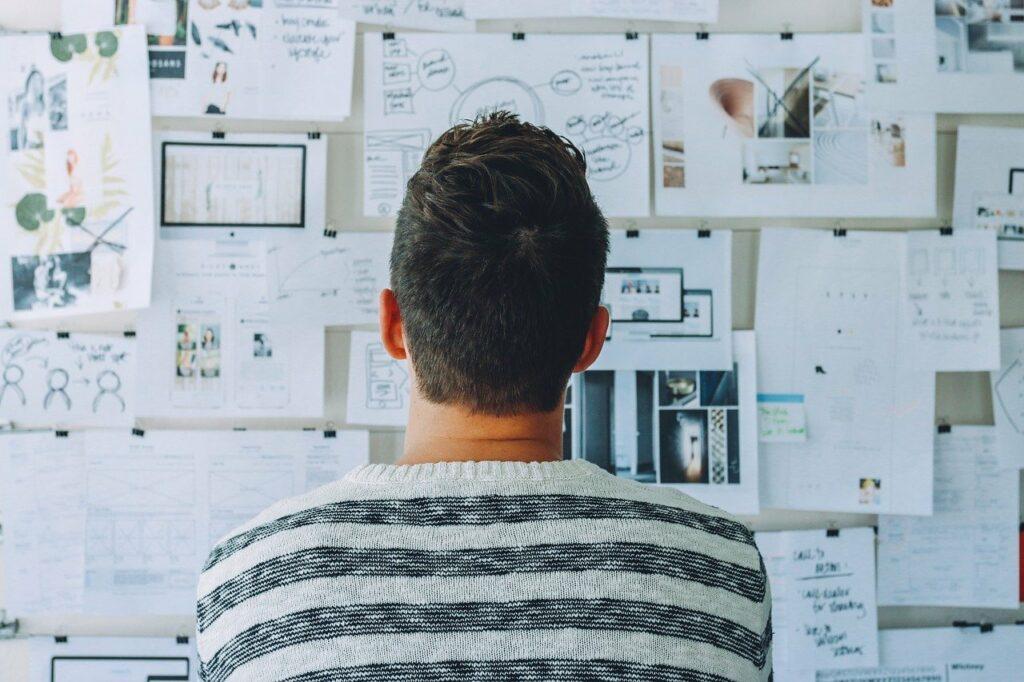 startup, whiteboard, room